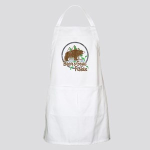 Bears Gone Fishin' DISTRESSED Apron