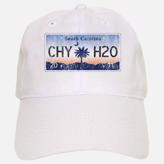 Chilly Water SC License Plate DISTRESSED Baseball Baseball Cap