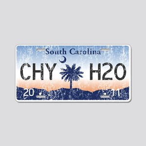 Chilly Water SC License Pla Aluminum License Plate