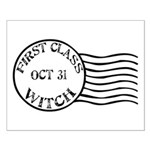 First Class Witch Halloween Small Poster