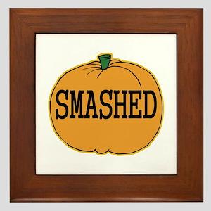 Smashed Pumpkin Framed Tile