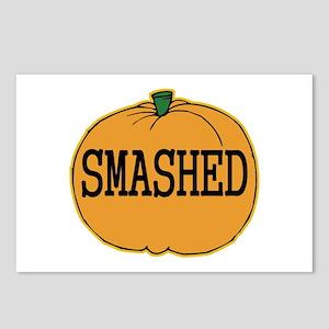Smashed Pumpkin Postcards (Package of 8)
