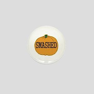 Smashed Pumpkin Mini Button