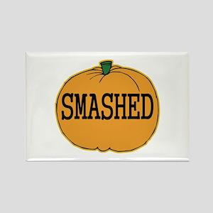 Smashed Pumpkin Rectangle Magnet