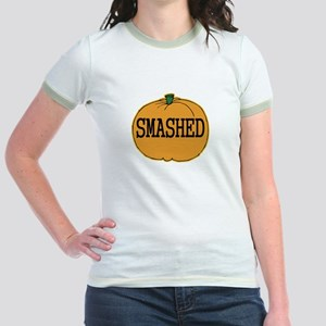 Smashed Pumpkin Jr. Ringer T-Shirt