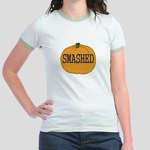 Smashed Pumpkin Jr. Ringer T-Shirt