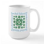 Sanibel Sea Turtle - Large Mug