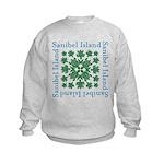Sanibel Sea Turtle - Kids Sweatshirt