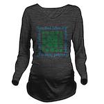 Sanibel Sea Turtle - Long Sleeve Maternity T-Shirt