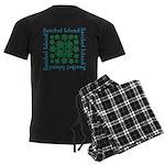 Sanibel Sea Turtle - Men's Dark Pajamas