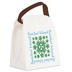 Sanibel Sea Turtle - Canvas Lunch Bag