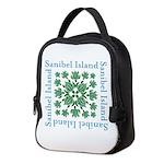 Sanibel Sea Turtle - Neoprene Lunch Bag