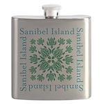 Sanibel Sea Turtle - Flask