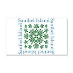 Sanibel Sea Turtle - Car Magnet 20 x 12