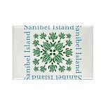 Sanibel Sea Turtle - Rectangle Magnet (10 pack)
