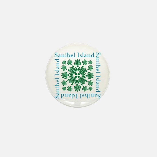 Sanibel Sea Turtle - Mini Button