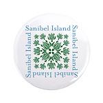 Sanibel Sea Turtle - Button