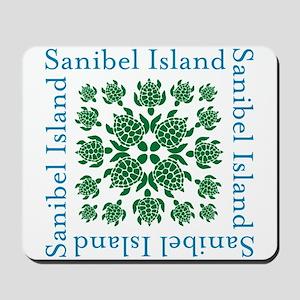 Sanibel Sea Turtle - Mousepad
