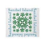 Sanibel Sea Turtle - Throw Blanket