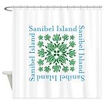 Sanibel Sea Turtle - Shower Curtain