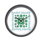 Sanibel Sea Turtle - Wall Clock