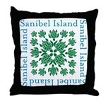 Sanibel Sea Turtle - Throw Pillow