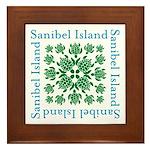 Sanibel Sea Turtle - Framed Tile