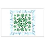 Sanibel Sea Turtle - Large Poster