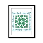 Sanibel Sea Turtle - Framed Panel Print