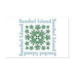 Sanibel Sea Turtle - Mini Poster Print