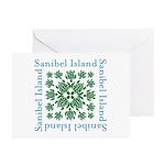Sanibel Sea Turtle - Greeting Cards (Pk of 10)