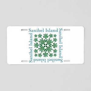 Sanibel Sea Turtle - Aluminum License Plate