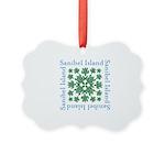 Sanibel Sea Turtle - Picture Ornament