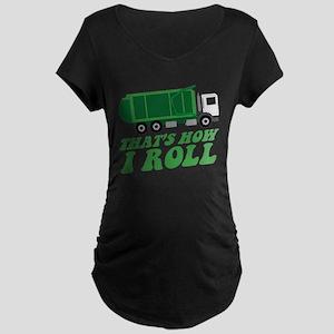 Garbage Truck Maternity T-Shirt