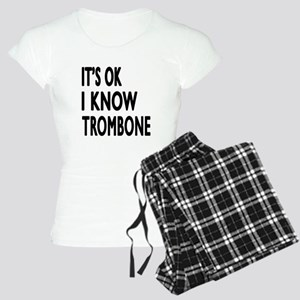 It Is Ok I Know Trombone Women's Light Pajamas