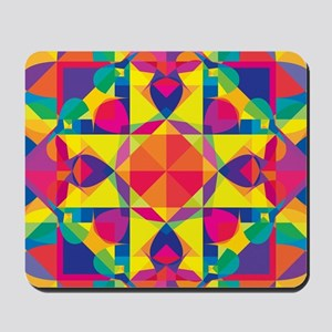 Pieces Everywhere Mousepad
