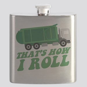 Garbage Truck Flask