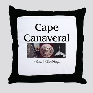 ABH Cape Canaveral Throw Pillow