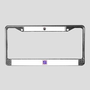 I love my Devon Rex License Plate Frame