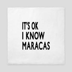 It Is Ok I Know Maracas Queen Duvet