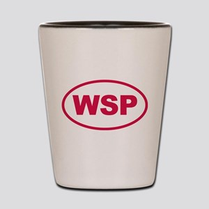 WSP Pink Euro Oval Shot Glass