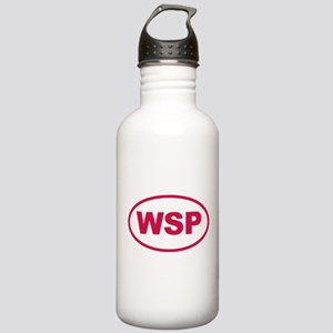 WSP Pink Euro Oval Stainless Water Bottle 1.0L