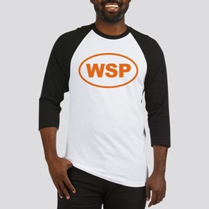 WSP Orange Euro Oval Baseball Jersey
