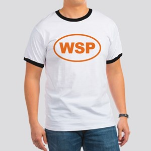 WSP Orange Euro Oval Ringer T