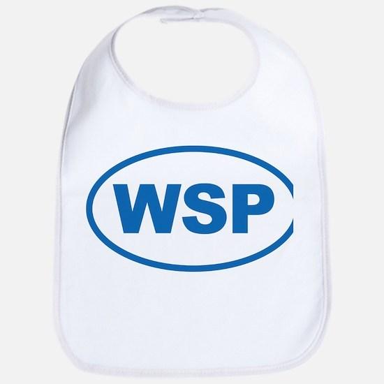 WSP Blue Euro Oval Bib