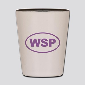 WSP Purple Euro Oval Shot Glass