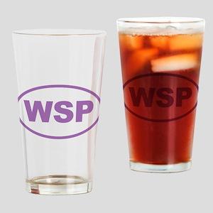 WSP Purple Euro Oval Drinking Glass
