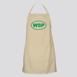 WSP Green Euro Oval Apron