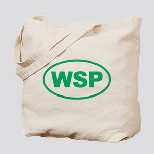 WSP Green Euro Oval Tote Bag