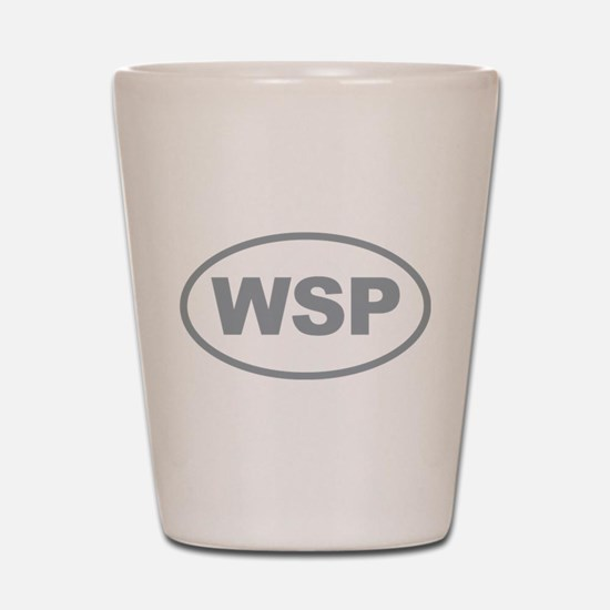 WSP Gary Euro Oval Shot Glass